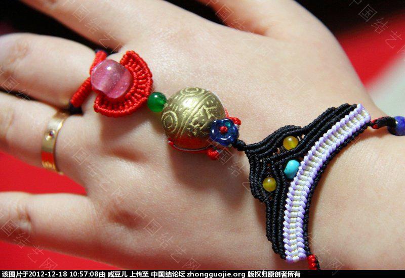 中国结论坛 改良版紫霞仙子手链(连戒指手链) 手链,戒指 作品展示 105547zwzhwi47oi4wthu5