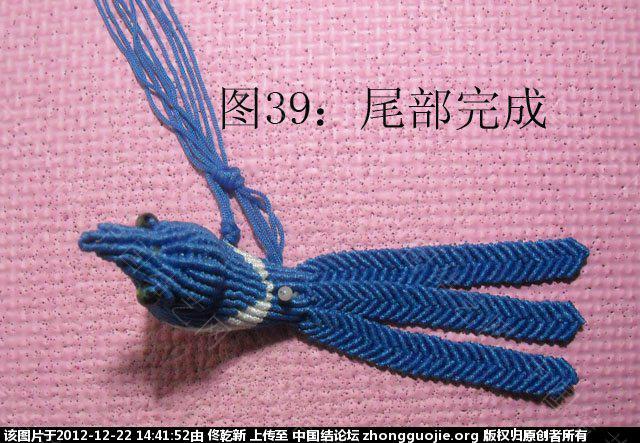 中国结论坛 喜鹊  立体绳结教程与交流区 143909r5qckbyyyy5i0l8y