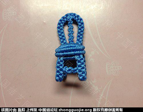 中国结论坛 小椅子、教程(加桌子图) 椅子 立体绳结教程与交流区 210206bbpbooj859opepsf