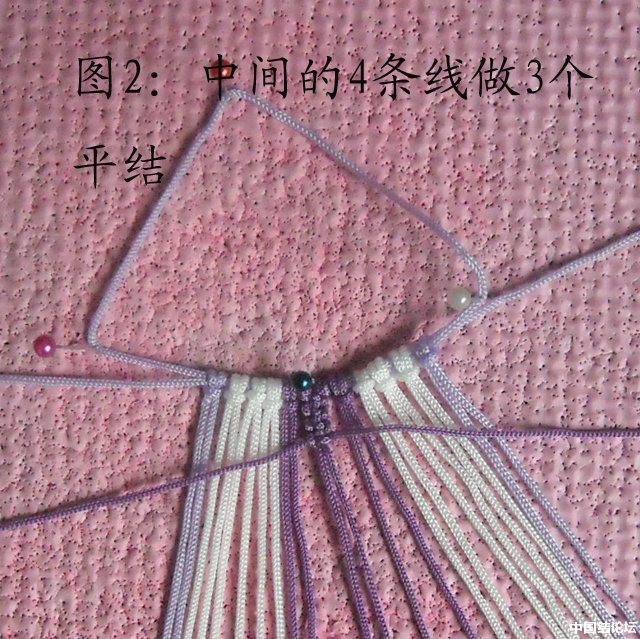 中国结论坛 立体小金鱼的编结过程 金鱼,动物 立体绳结教程与交流区 150859xs8rp5q6f2smjkzm