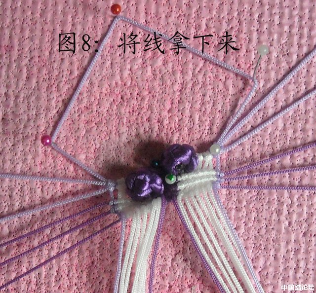 中国结论坛 立体小金鱼的编结过程 金鱼,动物 立体绳结教程与交流区 150935efa9sz22y82goo2j