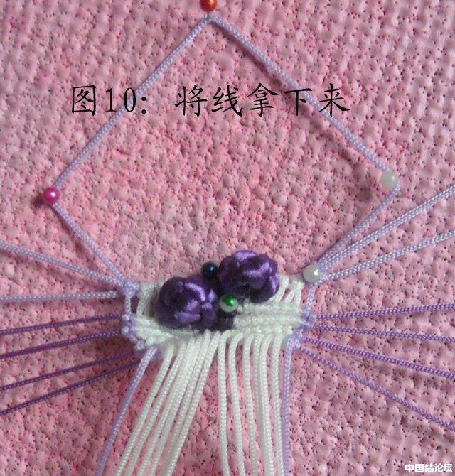 中国结论坛 立体小金鱼的编结过程 金鱼,动物 立体绳结教程与交流区 150946635ue55ttnee15sq