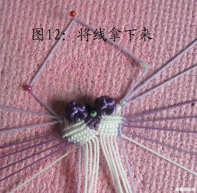中国结论坛 立体小金鱼的编结过程 金鱼,动物 立体绳结教程与交流区 151000yh6dyn767lytlrom