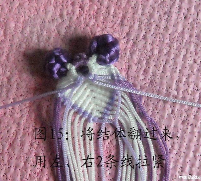 中国结论坛 立体小金鱼的编结过程 金鱼,动物 立体绳结教程与交流区 151014r6zi42msrxrs5isz