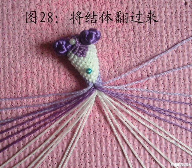 中国结论坛 立体小金鱼的编结过程 金鱼,动物 立体绳结教程与交流区 151128skcwv874aapp0cwa