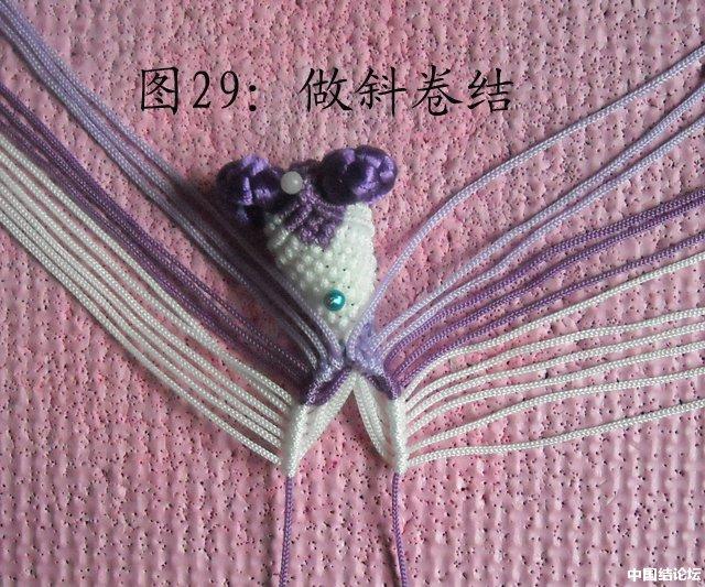 中国结论坛 立体小金鱼的编结过程 金鱼,动物 立体绳结教程与交流区 151134wesx68883fv0a33z