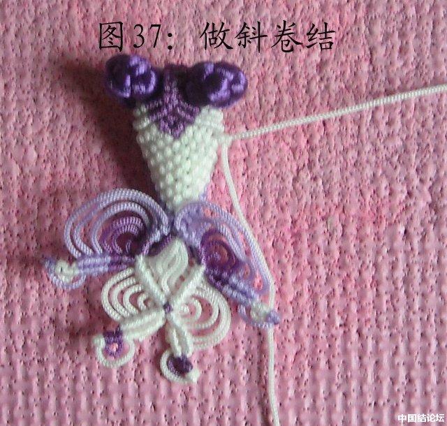 中国结论坛 立体小金鱼的编结过程 金鱼,动物 立体绳结教程与交流区 151214horhjk1hihxwjwhh