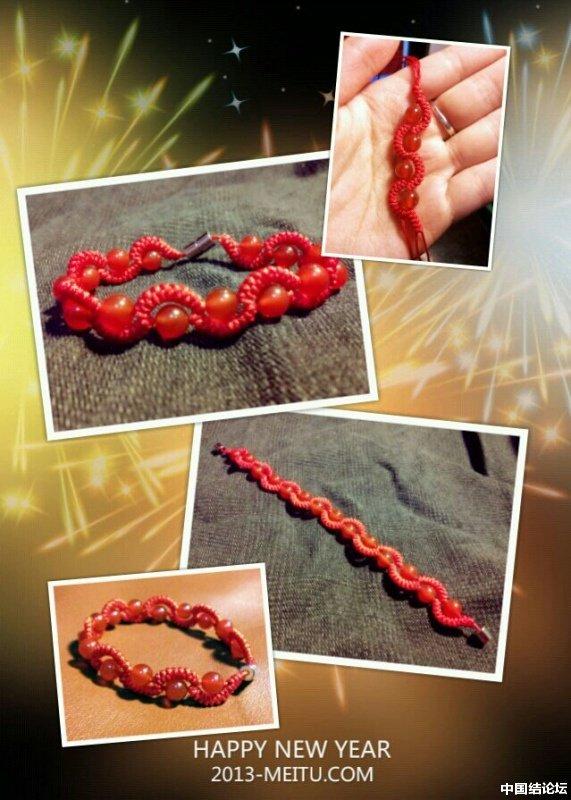 中国结论坛 蛇结波浪形玛瑙手链(新增手绘教程)  作品展示 225228mzfxa82xukumkmlw