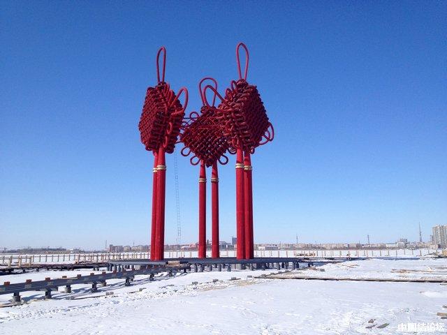 中国结论坛 全世界水上最大最重中国结 全世界,中国 中国结文化 194454g6k4p8h5phg3k336