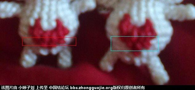 中国结论坛 斜卷结情侣小兔 小兔,情侣,大红色,小兔子 立体绳结教程与交流区 1555041h99rbb11zkhnkkc