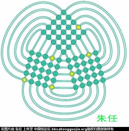 中国结论坛 冰花3面体(白色的粽子) 白色,粽子 冰花结(华瑶结)的教程与讨论区 204536uslow8nv8voanv8s