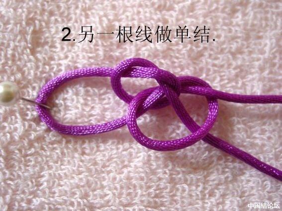 中国结论坛 直挂式冰花手链教程 教程,手链,分级达标 冰花结(华瑶结)的教程与讨论区 133234445z4a4t8rcrht4j