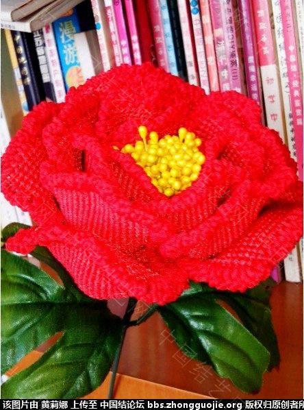 中国结论坛 玫瑰变牡丹 玫瑰,牡丹 立体绳结教程与交流区 1653509u6dxu5j668a859a
