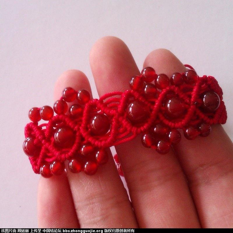 中国结论坛 跟着论坛上编的斜卷红玛瑙手链 论坛,手链,红玛瑙 作品展示 223500zk995695knr61o5r