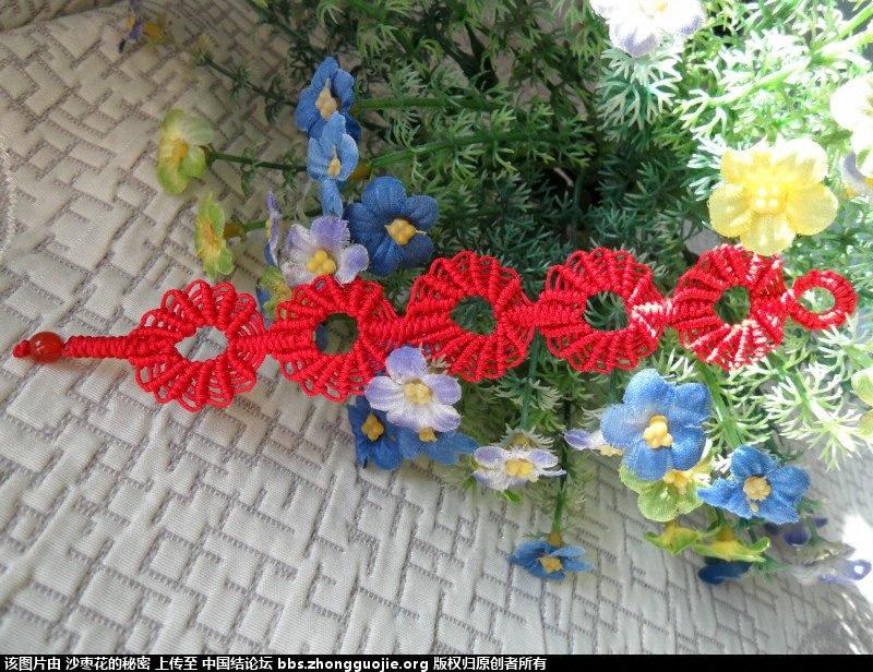 中国结论坛 自己总结的各种手链用线量 平安,三生,金刚 作品展示 150417pmf8z3fk88pfr68y