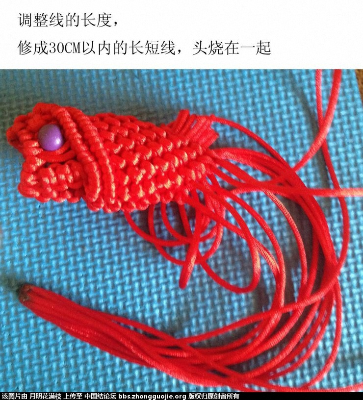 中国结论坛 吉庆有鱼  立体绳结教程与交流区 132901ucyuy7aecun0zzpl