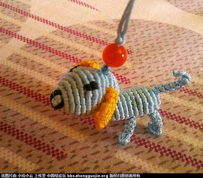 中国结论坛 根据前辈教程编了一个可爱的小狗 小狗 作品展示 054819ztuif82oot1ioobf