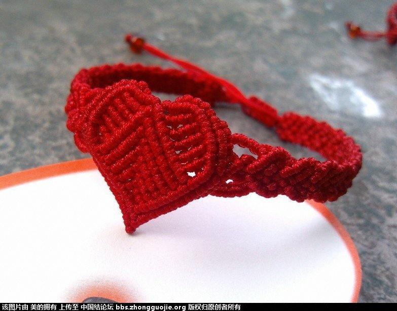 中国结论坛 我的心形手链合集(不断更新中)  作品展示 152834ffxv6drp1gr4tpx1