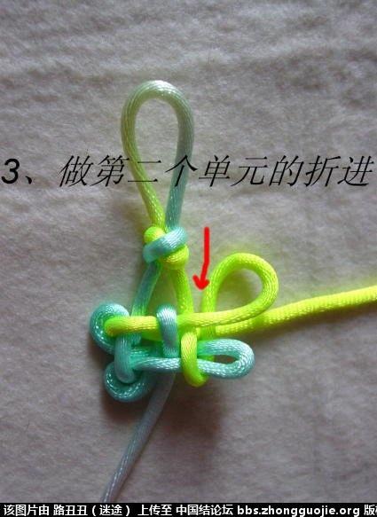 中国结论坛 正高升结实物编结图例(主线) 高升 丑丑徒手编结 185332fuor4m42bo2drs46