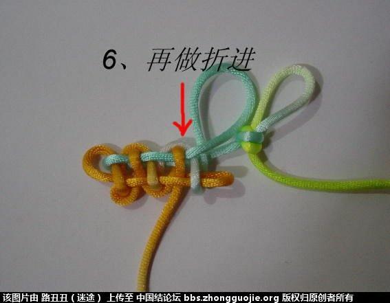 中国结论坛 宝门结实物图例二  丑丑徒手编结 210457jndbrrpbdds46un1