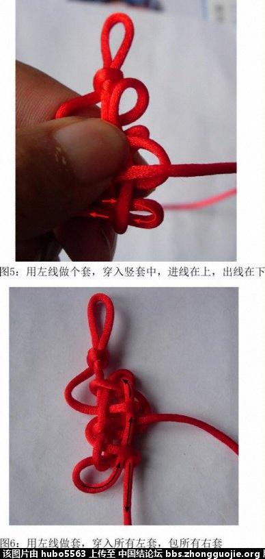 中国结论坛 双胞胎2*2盘长编结过程(下加单元扩展) 双胞胎 丑丑徒手编结 2215171gly0r21zf23jzga