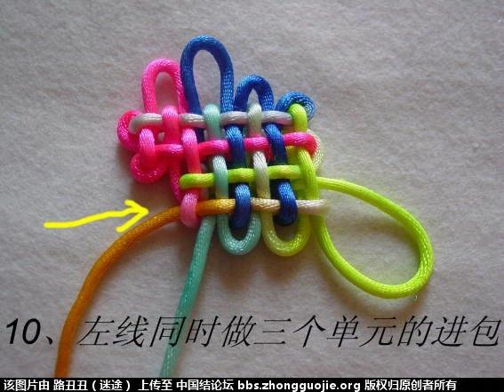 中国结论坛 鱼结实物图例  丑丑徒手编结 122040ottmo0ccbqre6e6i