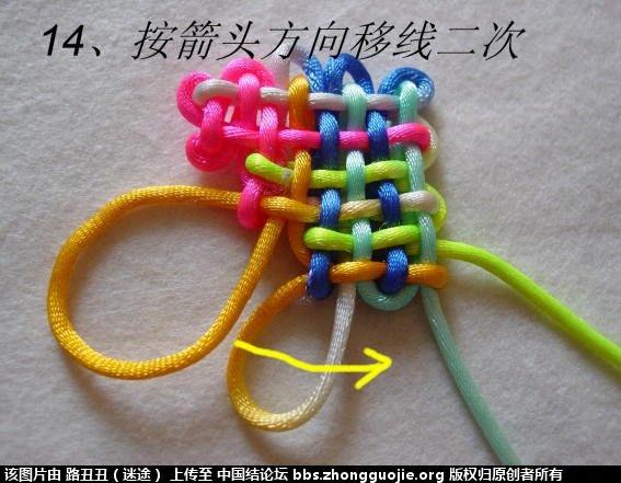 中国结论坛 鱼结实物图例  丑丑徒手编结 122045na9tn2co9y9129z9