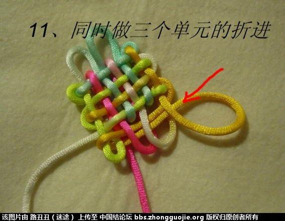 中国结论坛 三胞胎3*3*3实物图例 三胞胎 丑丑徒手编结 09005282vizi4921xum4uh