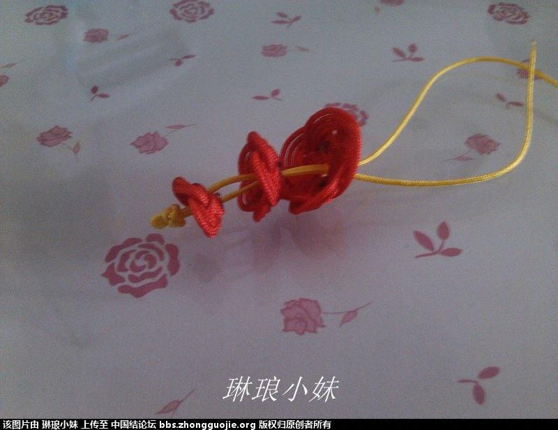 中国结论坛 新手新学 套箍结玫瑰花手链and戒指 玫瑰花,手工 图文教程区 194855wolzoqcymoxxhyqs