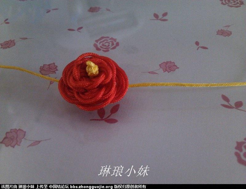 中国结论坛 新手新学 套箍结玫瑰花手链and戒指 玫瑰花,手工 图文教程区 194858ndf6i6tfjd666fxi