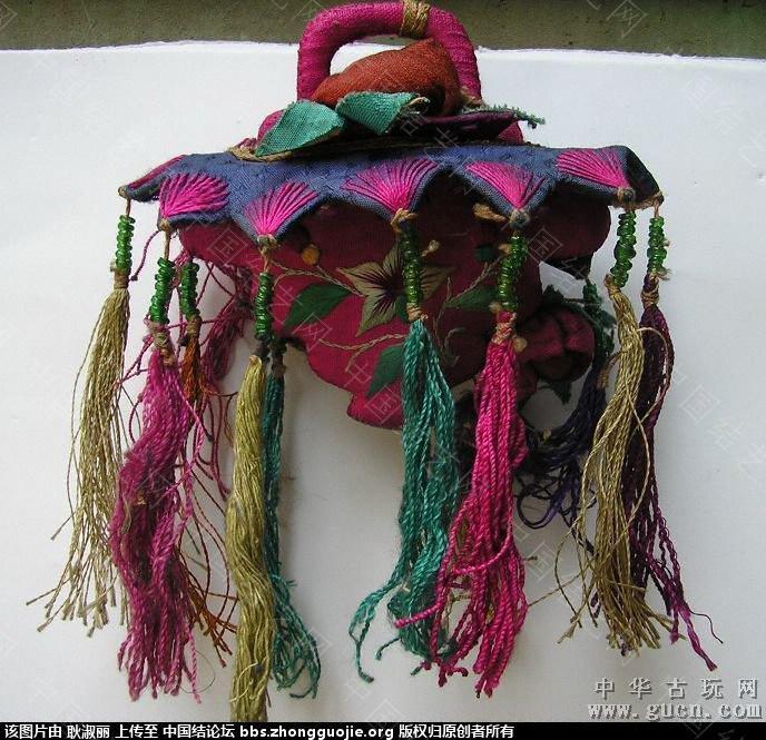 中国结论坛 清末到民国时期的带结绣品1 古玩,网站 中国结文化 202507j705z0555trrygo3