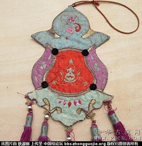 中国结论坛 清末到民国时期的带结绣品1 古玩,网站 中国结文化 2025409qo15qnpoqpcqioh