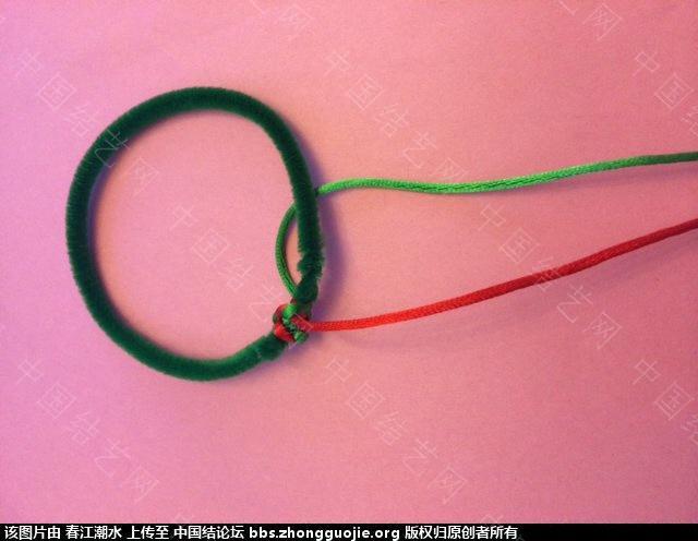 中国结论坛 圣诞花环缎带简易打结法和自制花环线圈方法 圣诞花,自制,线圈,方法,打结 图文教程区 080024711nh1zq19b1uq61
