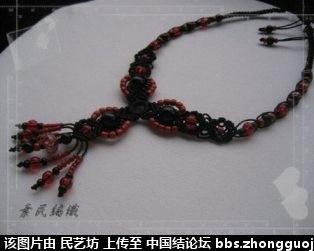 中国结论坛 最近編的幾條琉璃項鍊 宝格丽项链,卡地亚项链,项链款式,项链,宝格丽项链材质 作品展示 221537778n182y87d1ijnb