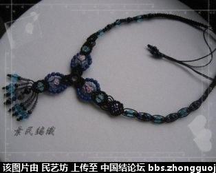 中国结论坛 最近編的幾條琉璃項鍊 宝格丽项链,卡地亚项链,项链款式,项链,宝格丽项链材质 作品展示 221542wvb77vbvst2rs0wd