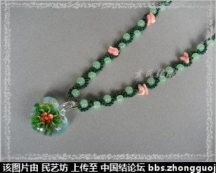 中国结论坛 最近編的幾條琉璃項鍊 宝格丽项链,卡地亚项链,项链款式,项链,宝格丽项链材质 作品展示 223204d0c0f5fqq0za0cqu