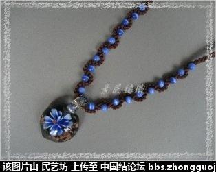 中国结论坛 最近編的幾條琉璃項鍊 宝格丽项链,卡地亚项链,项链款式,项链,宝格丽项链材质 作品展示 223209zxx22mqsmsxzxxyp