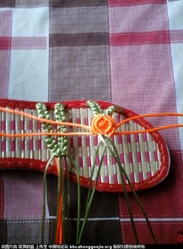 中国结论坛 我编的叶子玫瑰拖鞋的过程,请指正,谢谢 玫瑰,拖鞋,叶子 图文教程区 193234pr1a93p1mkerdpk9