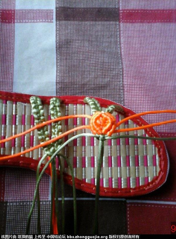 中国结论坛 我编的叶子玫瑰拖鞋的过程,请指正,谢谢 玫瑰,拖鞋,叶子 图文教程区 193235gggfgbr46zrb1mir