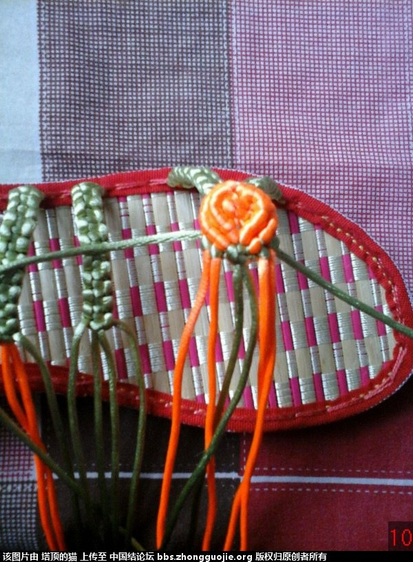 中国结论坛 我编的叶子玫瑰拖鞋的过程,请指正,谢谢 玫瑰,拖鞋,叶子 图文教程区 193237rcamtafr6rxahfg3