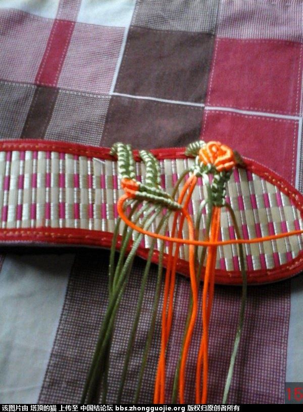 中国结论坛 我编的叶子玫瑰拖鞋的过程,请指正,谢谢 玫瑰,拖鞋,叶子 图文教程区 193243yytzsi4opsr9xifr