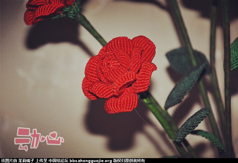 中国结论坛 秀秀我的玫瑰花  立体绳结教程与交流区 223251so87f38fm000707m