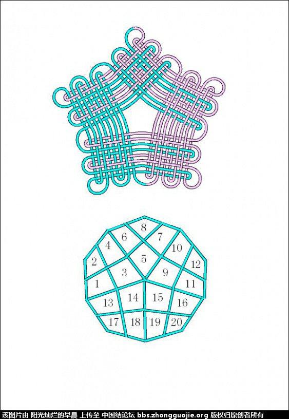 中国结论坛 徒手三教程(二回复翼、叶子、实心五边形) 五边形,叶子 基本结-新手入门必看 234716lvooth7voplo7xkl