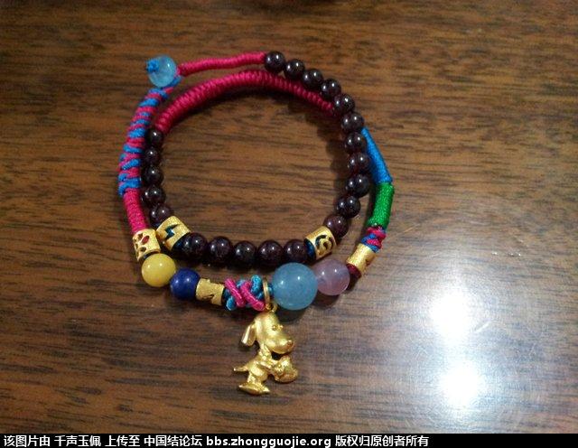 中国结论坛 学一下绕线与蛇结,就可做出漂亮手链啦 漂亮 作品展示 121713snnzmavrr9kssknq
