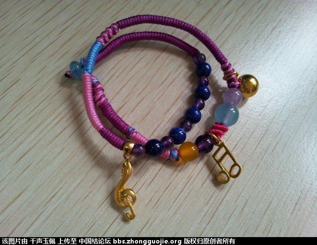 中国结论坛 学一下绕线与蛇结,就可做出漂亮手链啦 漂亮 作品展示 121742rabdaova7radx70h