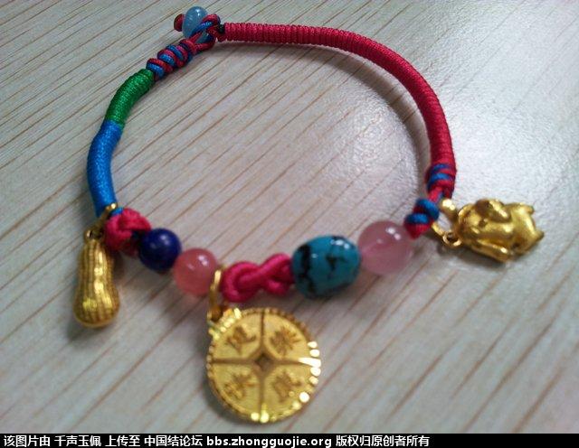 中国结论坛 学一下绕线与蛇结,就可做出漂亮手链啦 漂亮 作品展示 121743r6680g80z09xi04b
