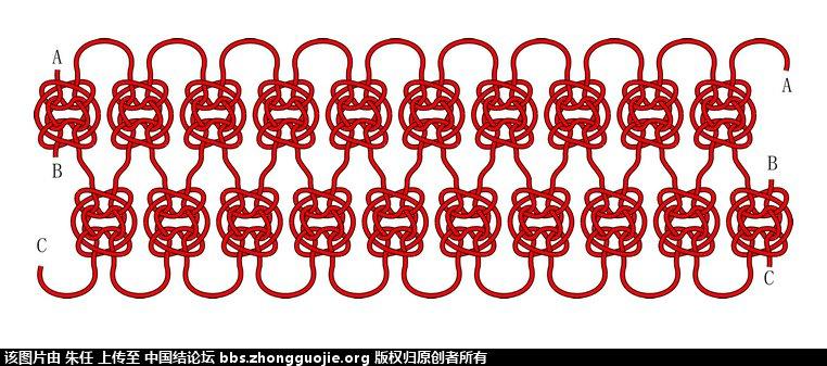 中国结论坛 用藻井结编的手链及走线图  图文教程区 2021095hxw174fh5724hfl
