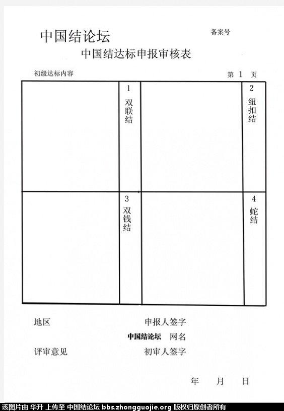 中国结论坛 达标审核表格下载------和表格图片编辑方法 图片 中国绳结艺术分级达标审核 205942quonuncnkyhrkcfj