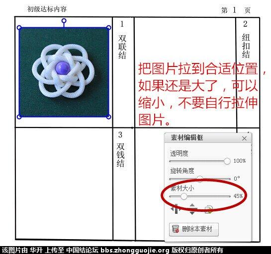 中国结论坛 达标审核表格下载------和表格图片编辑方法 图片 中国绳结艺术分级达标审核 205948mtxuzzxwhh04uh1m
