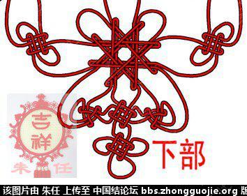 中国结论坛 为论坛上讨论2年的结饰画个走线图(继续讨论)  走线图教程【简图专区】 220818nccg7qhzkqghapxg